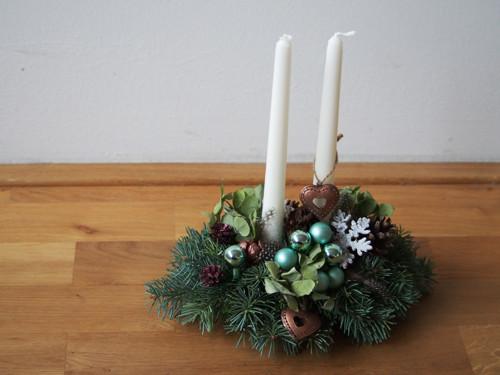 Vánoční svícen malý