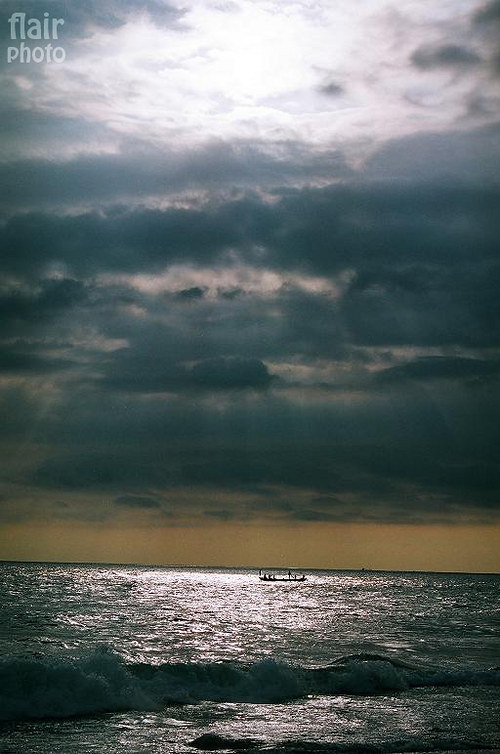 Rybáři na moři