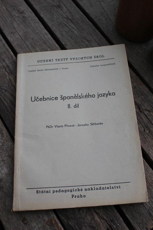 Kniha - Učebnice španělského jazyka II.díl
