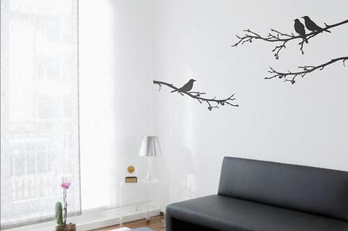 Ptáčci na větvích