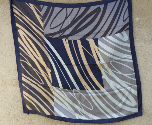Z nebe...kvalitní hedvábný šátek Monaco