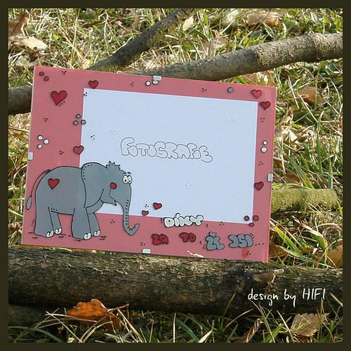 Zamilovaný slon - na přání