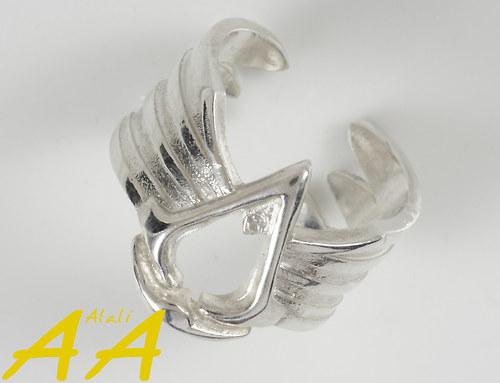 Assassin\'s prsten - stříbro