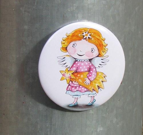 andělka Amálka... magnet VELKÝ