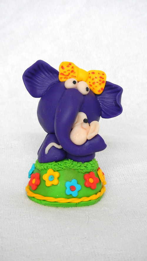 Hračka Slon s myškou