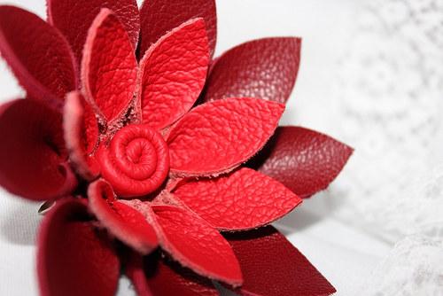 Červená bikolor - ultra mini