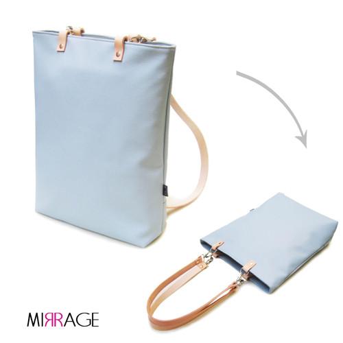 Ava backpack n.6 kožené popruhy