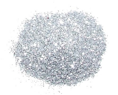 Třpytivý prach stříbrný  #58      4gramy