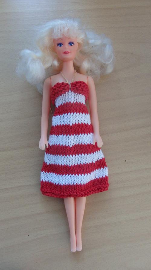 Barbie - námořnické šaty