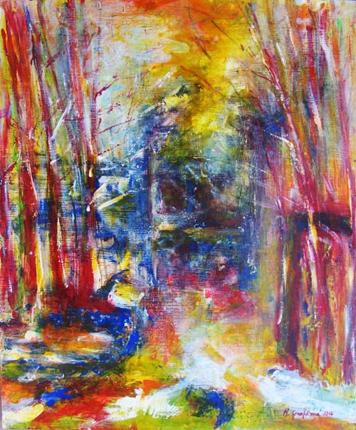 Sen - lesní procházka
