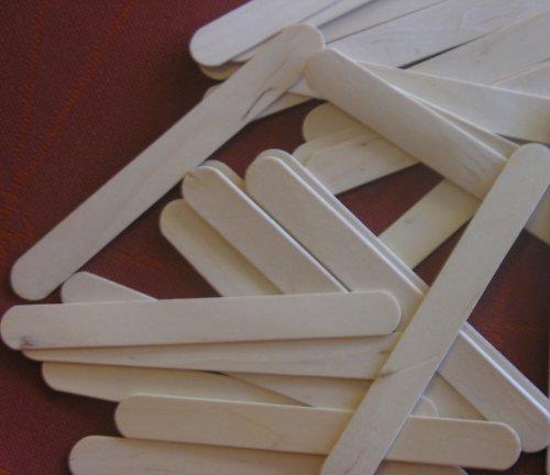 Dřevěné lopatky k dekorování - 10 kusů