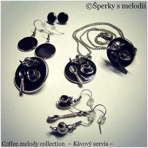 ©ŠPERKY S MELODIÍ - Coffee melody ~ Kávový servis