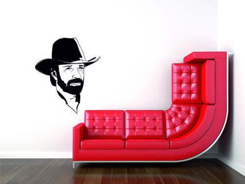 Samolepka na zeď - Chuck Norris