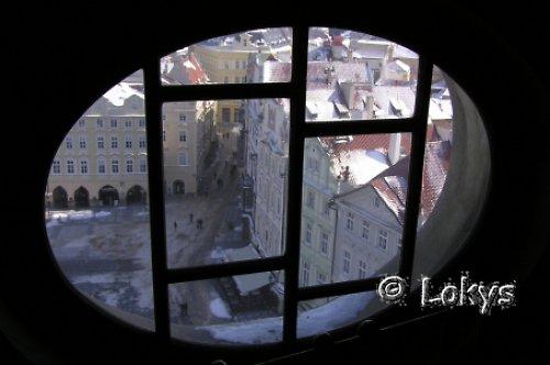 Staroměstské náměstí z výšky