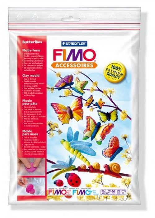Formy na Fimo / silikonové / Motýlci a vážky