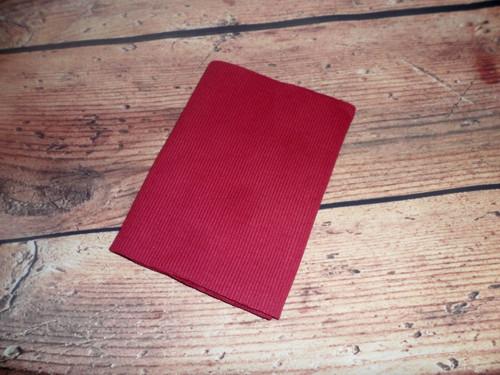Náplet tmavě červený 90x16 cm