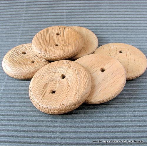 KRAKONOŠ dřevěný knoflík