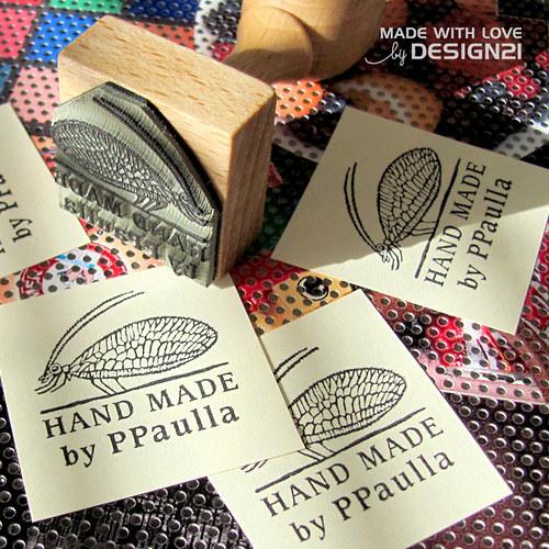 Razítko HAND MADE – zlatoočka