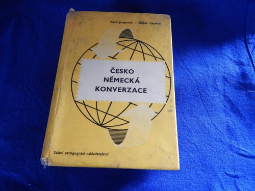 Česko německá konverzace z r.1963