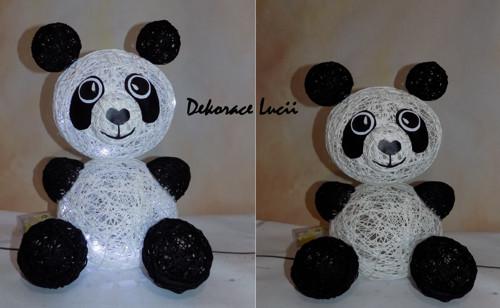 Lampička zvířátko bobule PANDA