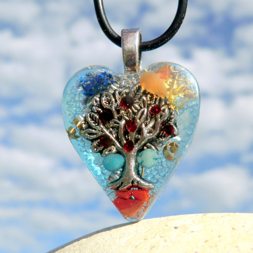 Granátový * Strom Života  * K16 - modrý