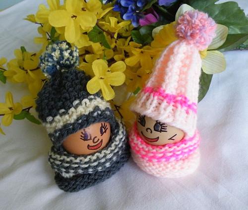 Oblečky na vajíčka