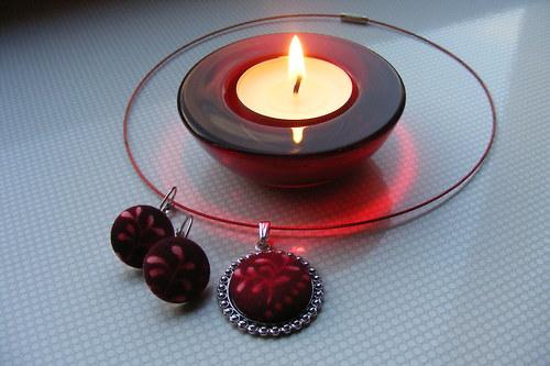 Sada - červený plamínek