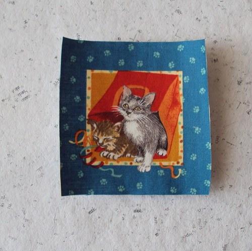 Hravé kočičky 4 - nažehlovačka
