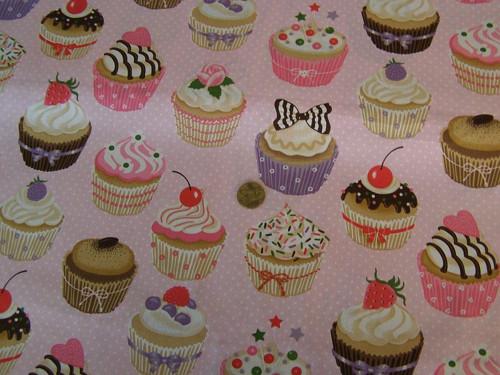 Cupcakes na světle růžové