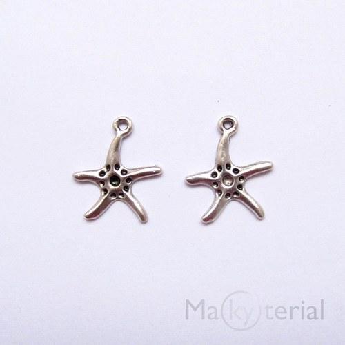 Mořská hvězdice- starostříbro- 6ks