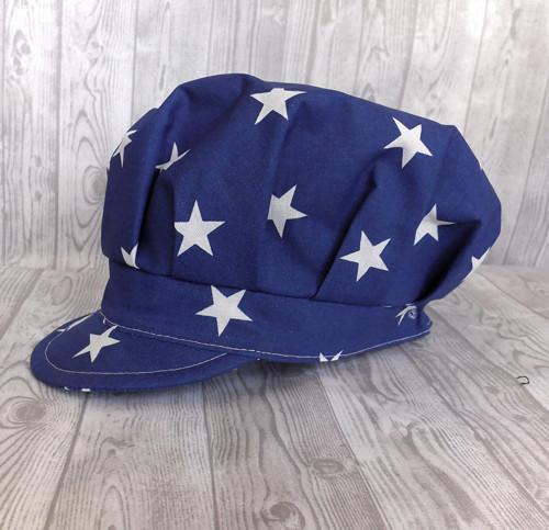 tmavě modrá s hvězdami