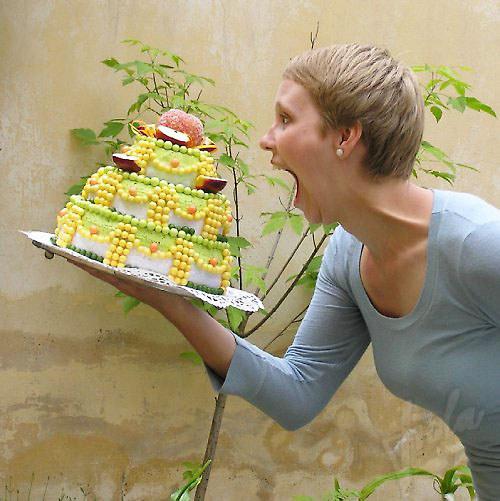 Jablkový dortík - jezte, nepřiberete