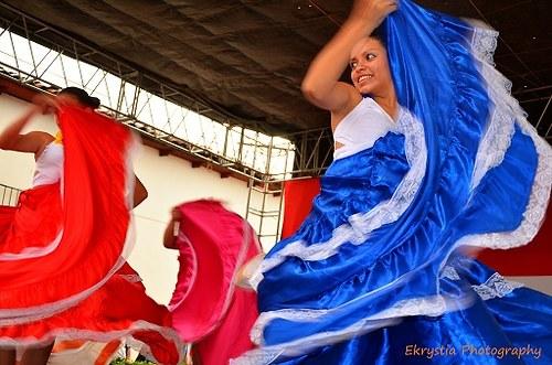 Tradiční tanec, El Salvador