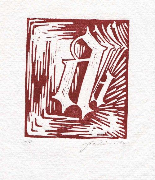 Gotické písmeno a
