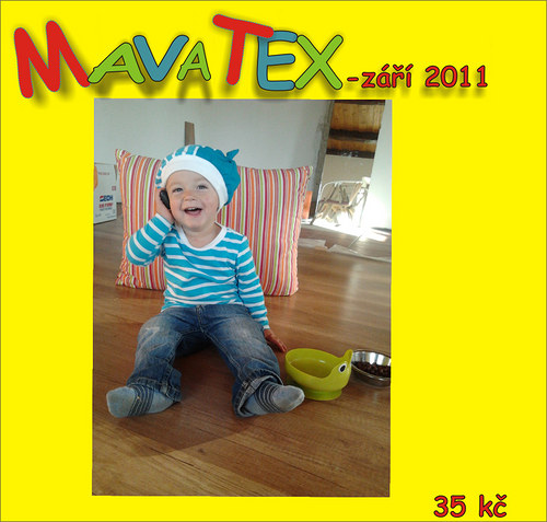 časopis mavatex - září