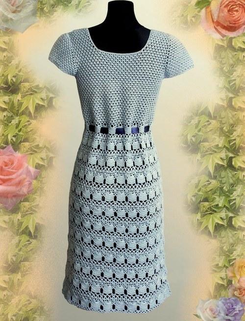 4baab15fc137 Elegantní a sexy háčkované šaty NÁVOD   Zboží prodejce zskncl