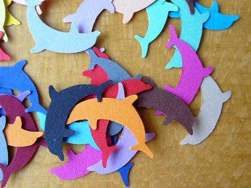 Výsek delfínek 50 ks