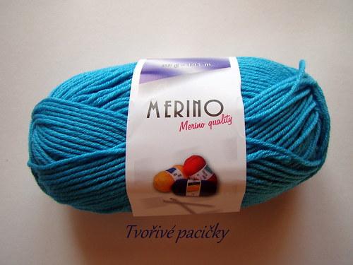 Merino 14776 - tyrkysová