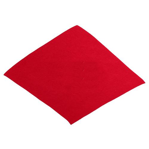 Filcový list 30x30 cm červený