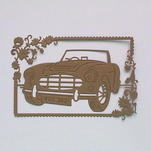 Výsek - Rámeček s autem