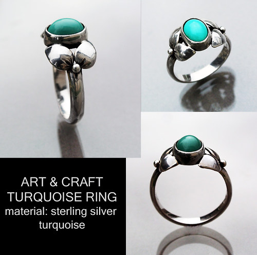 Art & Craft turquoise ring