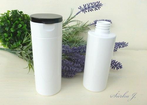 neprůhledná lahvička s dávkovacím uzávěrem, 150 ml