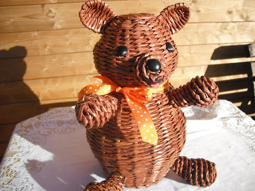 Medvídek z papíru