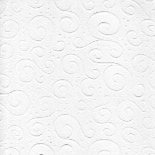 Karton A4 milano s reliéfem bílý