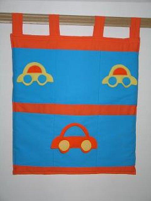 """Kapsář malý \""""Auto oranžové\"""""""