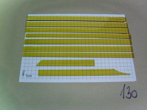 střepy na tiffany - transparentní různobarevné