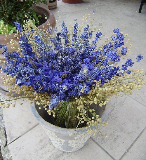modroučká ....kytice