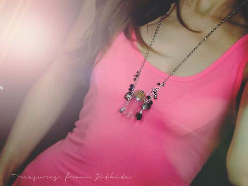 náhrdelník - talisman k naplnění vzpomínkami