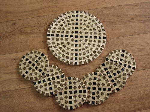 Mozaiková souprava podtácků