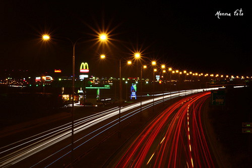 Jednou v noci na dálnici..